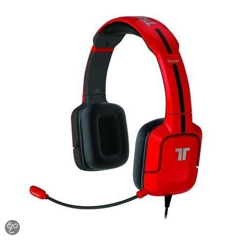 Tritton  Kunai Stereo Headset Rood PS3 + PS4 + PS Vita