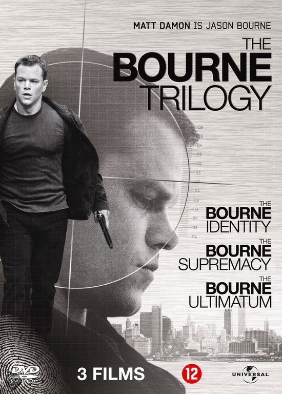 Bourne Trilogy (Dvd)