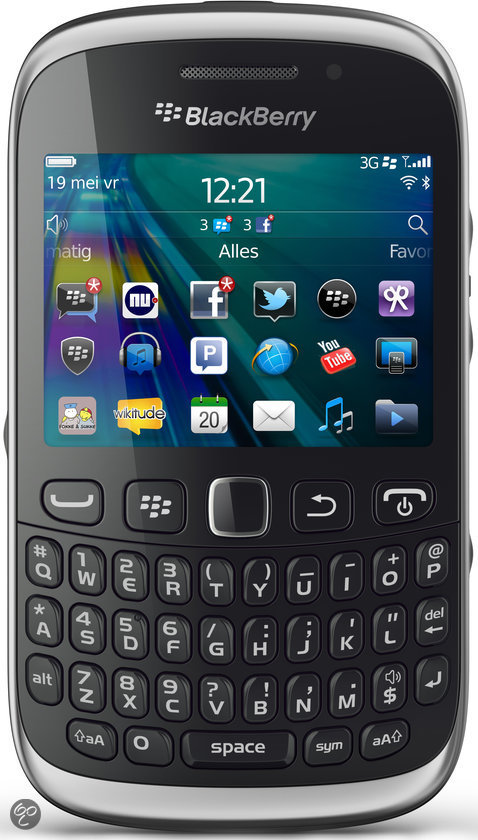 BlackBerry Curve 9320 - Zwart