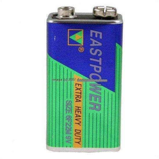 9-volt blokbatterij