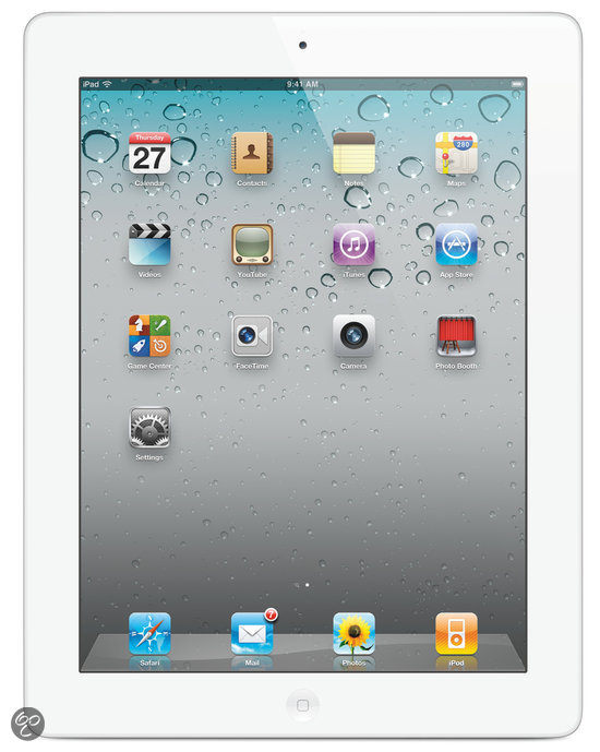 Apple iPad - WiFi / 16GB - Wit