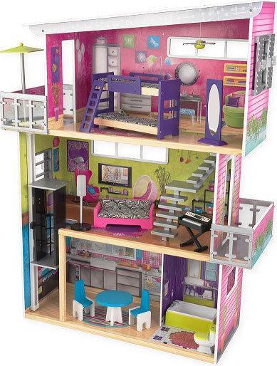 bol.com : Mijn Moderne Poppenhuis,KidKraft : Speelgoed