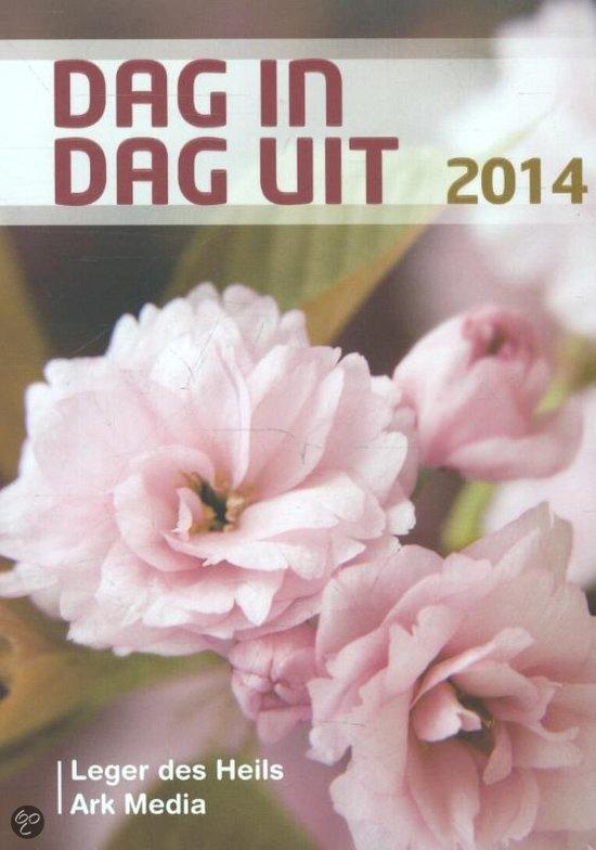 Dag in dag uit 2014 dagboek