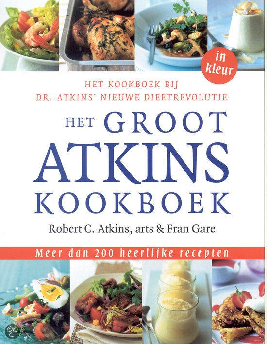 nieuwe atkins dieet boek