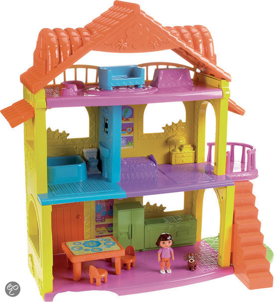Fisher price dora internationaal poppenhuis - Cocina dora la exploradora fisher price ...