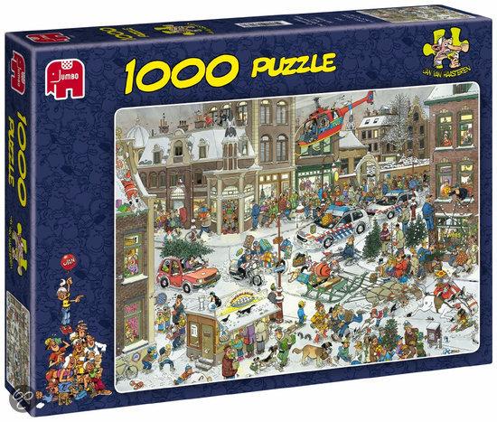 Jan van Haasteren Kerstmis - Puzzel - 1000 Stukjes