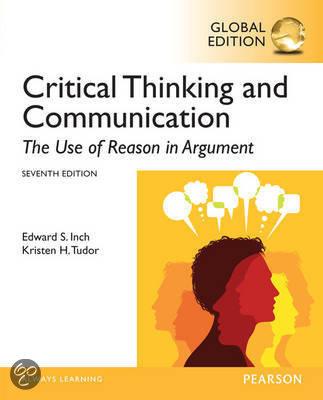 critical thinking and communication warnick