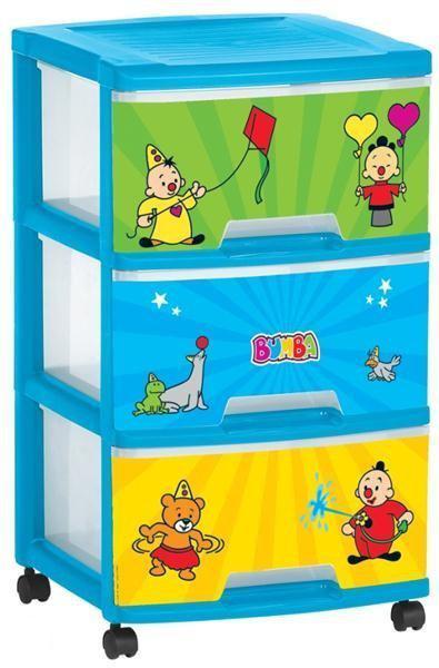 bol.com  Ladenkast Bumba met 3 laden van 20 ltr: 37x39x67 cm ...