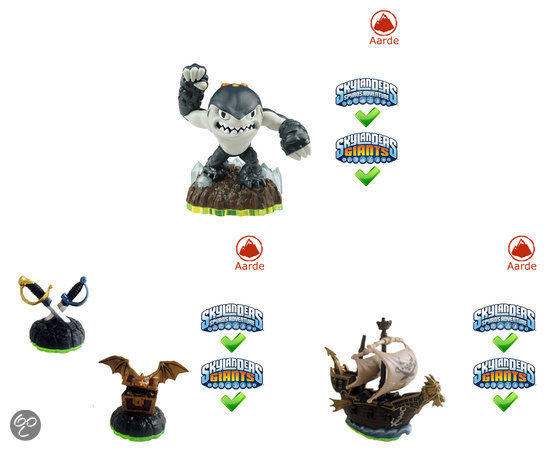 Skylanders Spyro's Adventure Pirate Adventure Pack Wii + PS3 + Xbox 360 + 3DS + PC