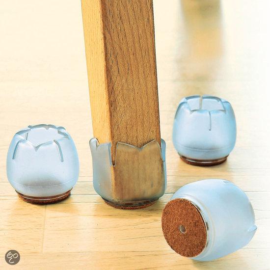 bol.com : Comfort Trends - Stoelpoot Beschermers - 5 cm : Wonen