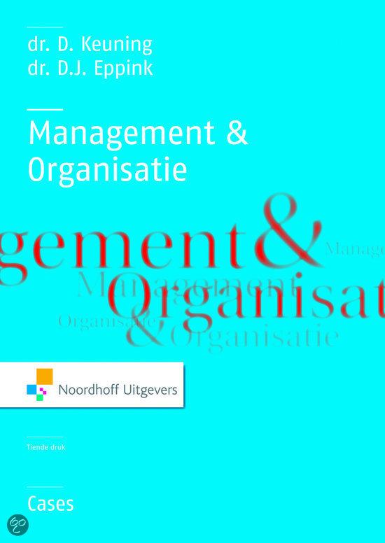 Management & organisatie / deel 33 cases
