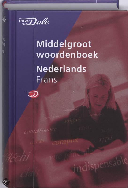 Van Dale Middelgroot woordenboek Nederlands-Frans in Bande