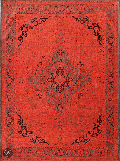 Louis de Poortere Vintage Burnt Orange 8041 140x200 cm Vloerkleed