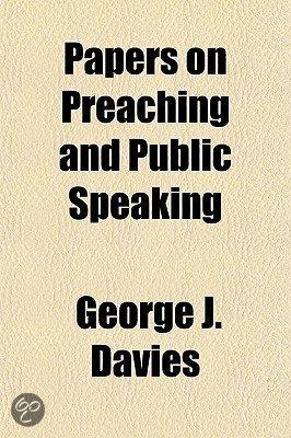 Public Speaking - Speech Writing