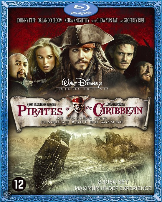Pirates Of The Caribbean: At World's End (Blu-ray)