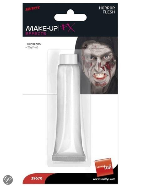 Halloween Witte zombie wonden schmink 28 ml in Kerk-Avezaath