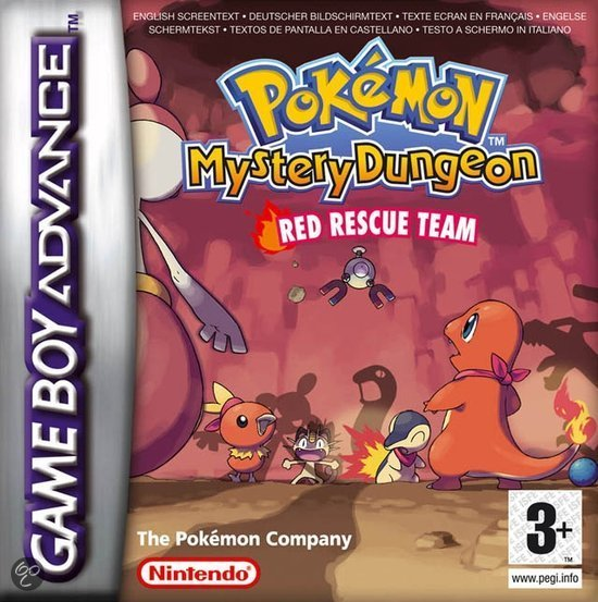 Pokemon Dungeon - Red Rescue Team