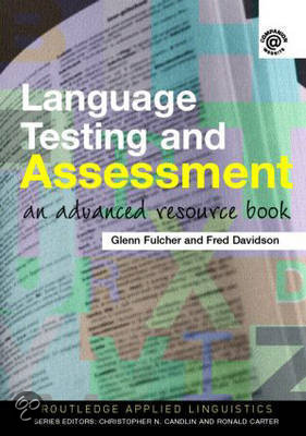 Language Testing and Assessment