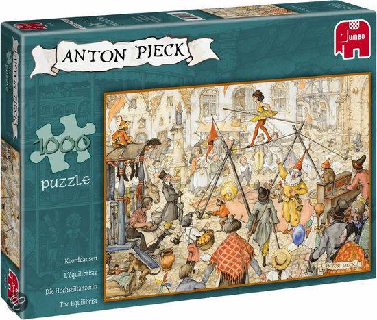 Anton Pieck - Koorddansen