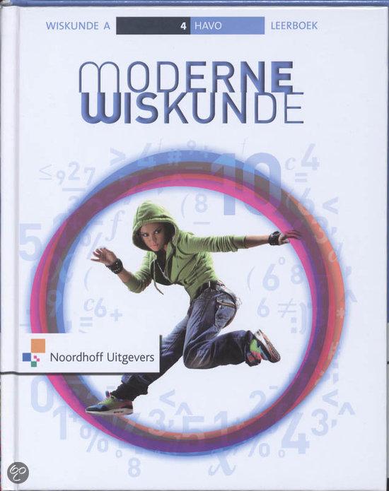 Moderne Wiskunde / Havo 4 / deel Leerboek