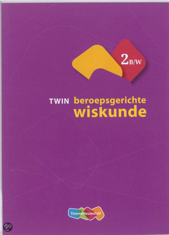 TWIN beroepsgerichte wiskunde 2 B/W