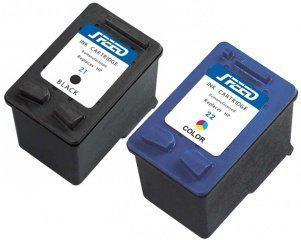 Speed - Inktcartridge / Alternatief voor de HP 21+22XL / Zwart / Kleur
