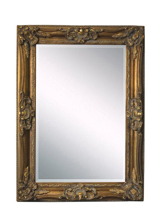 Fortuijn barok spiegel hout 230x130 cm for Spiegel 90x120