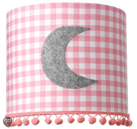 Coming Kids Bedtime - Wandlamp - Roze