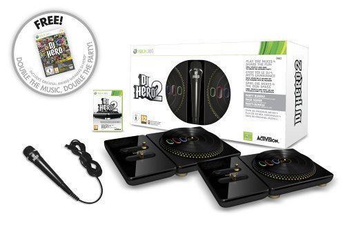 DJ Hero 2 + 2 Draaitafels + Microfoon