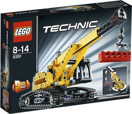 LEGO Technic Kraan met Rupsbanden - 9391