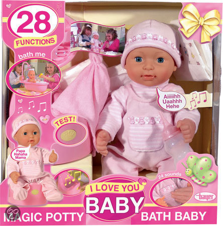 I Love You Baby Pop met 28 Functies