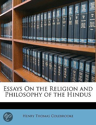 bol.com | Essays on the Religion and Philosophy of the Hindus, Henry ...