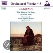 Glazunov: King of the Jews / Golovschin, Moscow Symphony