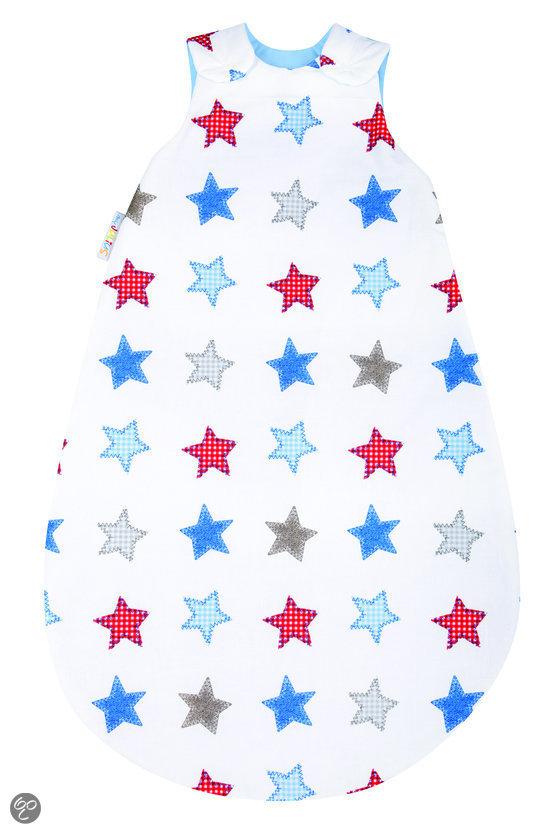 My Julius - Babyslaapzak Stars 110 cm - Wit