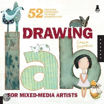 Boekentip: Drawing Lab for Mixed Media Artists