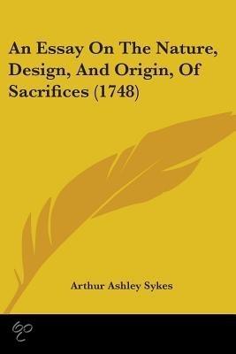 Essay On Sacrifice and Service