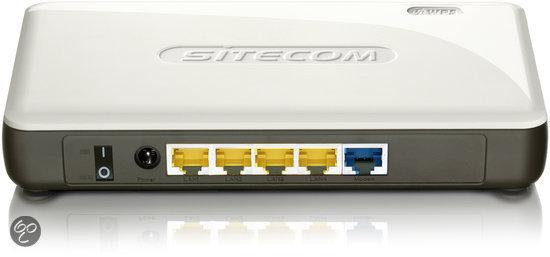 Sitecom — WLM-2500 — Wireless Modem Router N300 X2