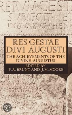 Res gestae divi augusti emperor of rome augustus caesar augustus emperor - Res gestae divi augusti pdf ...