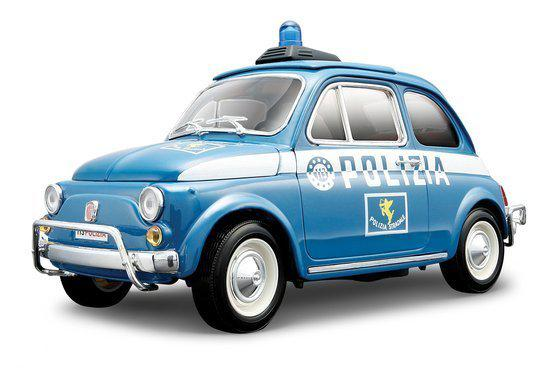 bburago fiat 500 polizia bburago speelgoed. Black Bedroom Furniture Sets. Home Design Ideas