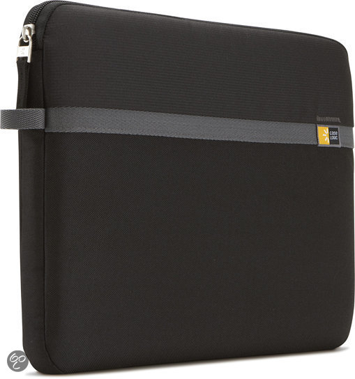Nylon - laptop Sleeve 13 inch / Zwart