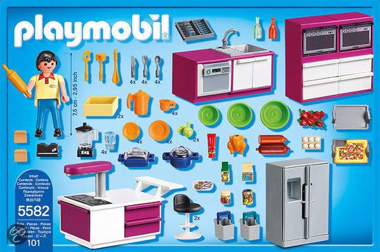 Microcement In Badkamer ~ bol com  Playmobil Keuken met kookeiland  5582,Playmobil  Speelgoed