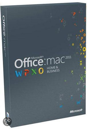 Microsoft Office Mac Home Business 2011 NL 1 PK