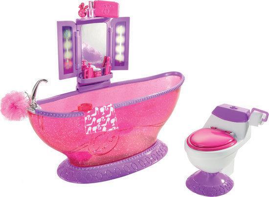 Barbie badkamer mattel speelgoed - Badkamer jaar ...