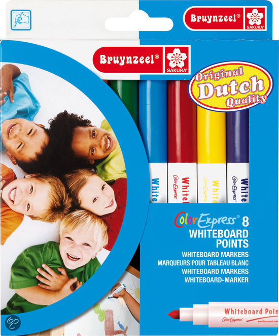 Bruynzeel Color Express 8 Whiteboard Stiften