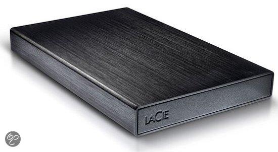 LaCie Rikiki - Harde schijf - 500 GB / USB 3.0 - Zwart