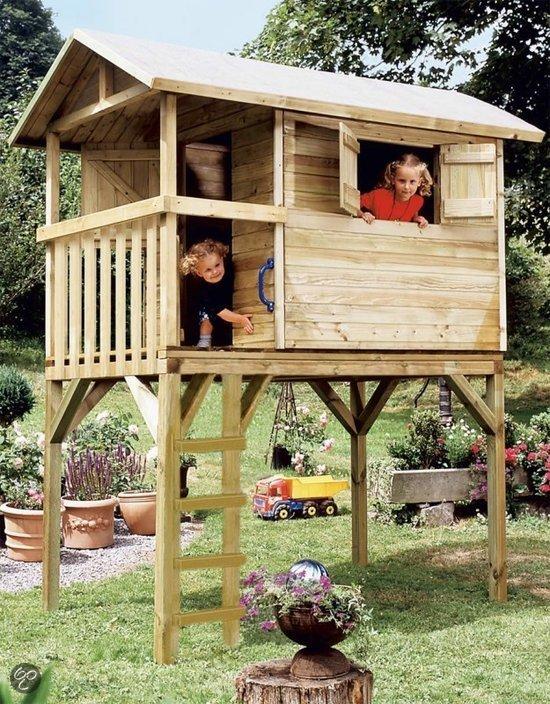 bol.com : Prestige-Garden Tree Hut Hout - Speelhuis : Speelgoed