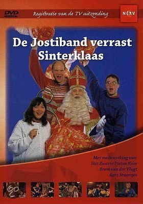 Jostiband Verrast Sinterklaas