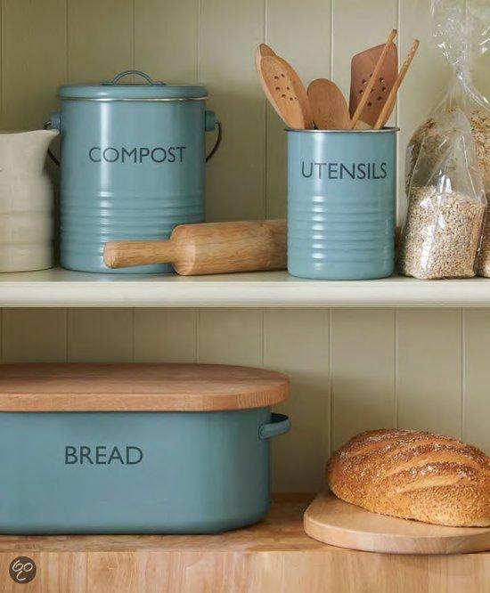 Vintage Keukenweegschaal : bol.com Typhoon Vintage Weegschaal – Blauw Koken en tafelen