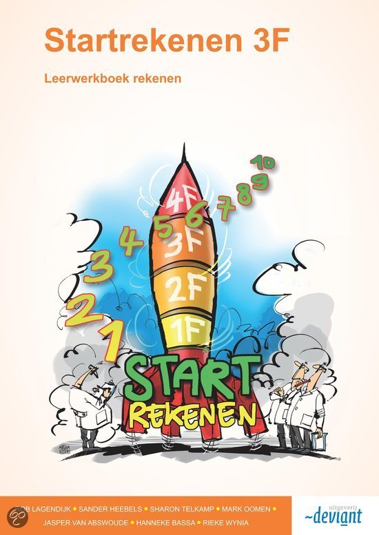 Startrekenen 3F / Leerwerkboek / druk 2