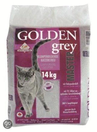 golden grey master kattenbakvulling met silicaat en babypoeder 28kg 2x14kg. Black Bedroom Furniture Sets. Home Design Ideas